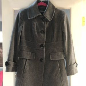 Kenneth Cole Reaction Long Wool Coat